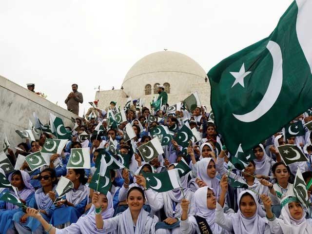 ملک بھر میں جشن آزادی ملی جوش و جذبے کے ساتھ منایا جارہا ہے