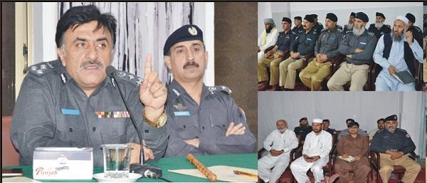پولیس عوام کی خدمت میں کوئی کسر نہ چھوڑیں، آرپی او مالاکنڈکی سخت ہدایات جاری