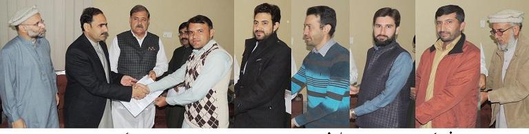 ریجنل انفارمیشن آفس سوات میں ایک سادہ لیکن پر وقار تقریب ،چیئرمین ڈیڈک فضل حکیم خان مہمان خصوصی تھے