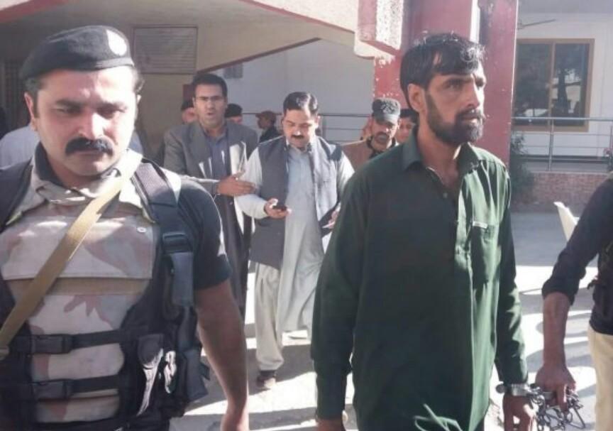 ضلعی کچہری میں خاتون پر چھری کے وار، ملزم گرفتار