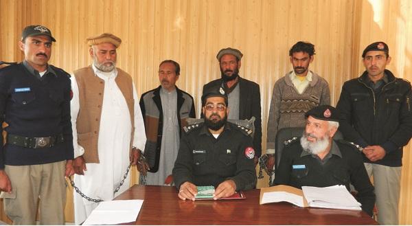 شاہ ڈھیری، چار لاکھ روپے میں جوان لڑکی کی ناجائز طریقے سے نکاح، چار ملزمان گرفتار