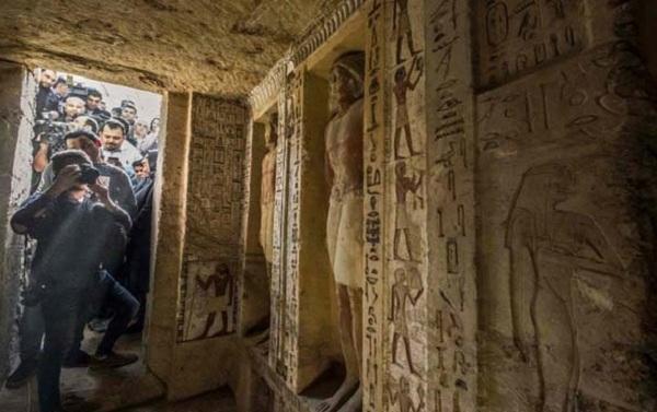 مصر سے 4 ہزار سال قدیم مقبرہ مکمل درست حالت میں دریافت