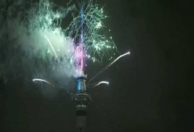 دنیا بھر میں سالِ نو کے رنگا رنگ استقبال کا آغاز نیوزی لینڈ سے ہوگیا