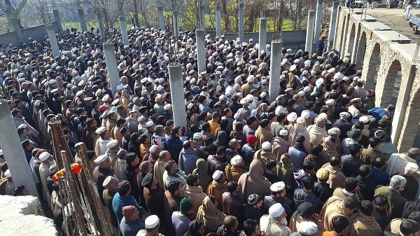 کبل توتانوبانڈئی کے اکرام اللہ خان کی نماز جنازہ ادا کردی گئی