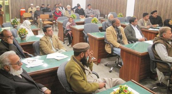 تحصیل کونسل بابوزئی سوات کا اجلاس ، ممبران نے مسائل کے انبارلگادیئے
