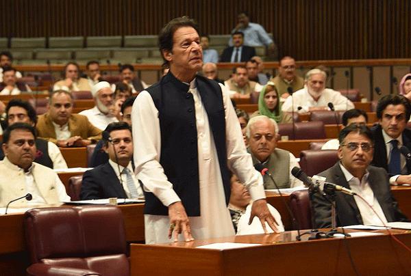 ملک کا سب سے بڑا مسئلہ اور لعنت منی لانڈرنگ ہے،عمران خان