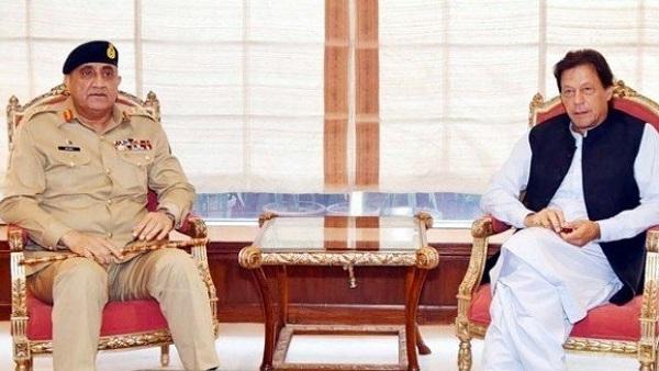 عمران خان اور ارمی چیف میں ملاقات،سیکورٹی صورتحال پر تبادلہ خیال