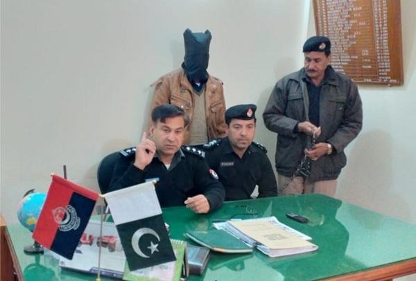 سوات،شاہڈھیری میں اندھے قتل میں ملوث ملزم گرفتار