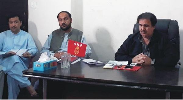 عوامی نیشنل پارٹی نے سوات میں پارٹی کو مزید فعال کرنے کیلئے حکمت عملی وضع کر لی
