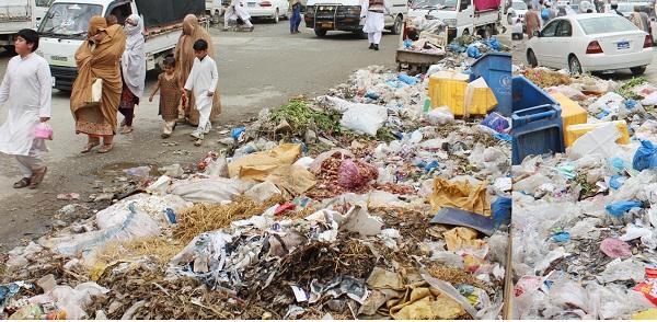 بریکوٹ میں گرین اینڈ کلین پاکستان مہم ناکام، ٹی ایم اے نے صفائی بند کردی