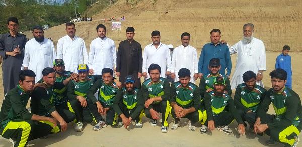 کبل،ملک با غ سپورٹس کمپلکس سر سینئی میں سرنگ آباد چیمپئین ٹرافی کا انعقا د