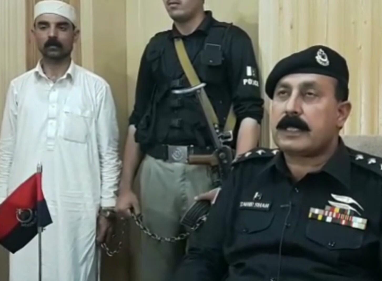 اپنی بیوی رقاصہ مینہ کو قتل کرنیوالا شخص ریمانڈ پر پولیس کے حوالے