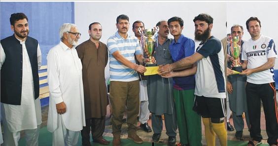 ڈسٹرکٹ سوات رمضان فلڈ لائٹس گیمز اختتام پزیر، سنگل مقابلوں میں حمزہ نے پہلی اور عبدالباسط نے دوسری پوزیشن حاصل کرلی