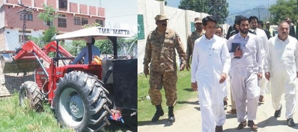 پاک فوج اور وزیر اعلیٰ محمود خان کی کوششوں سے 10 سال سے بند راستہ کھل گیا