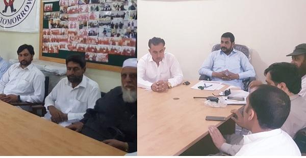 عیدالفطرمیں رضاکاروں کی ٹریفک ڈیوٹی کیلئے تنظیم شہری دفاع کا اجلاس