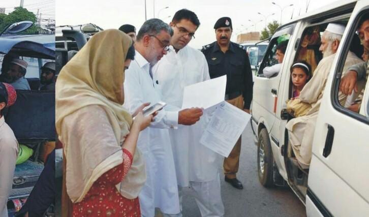 گاڑی مالکان عوام سے زائد کرایہ وصول کرنے سے گریز کریں،علی اصغر