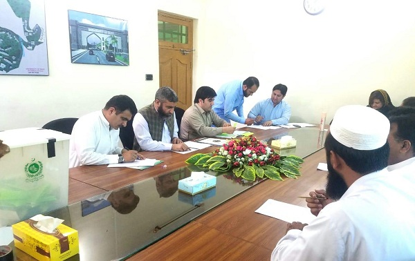 یونیورسٹی آف سوات  کے سینیٹ ممبرشپ کے لئے اسسٹنٹ پروفیسر اور لیکچرر کے انتخابات کیلئے الیکشن