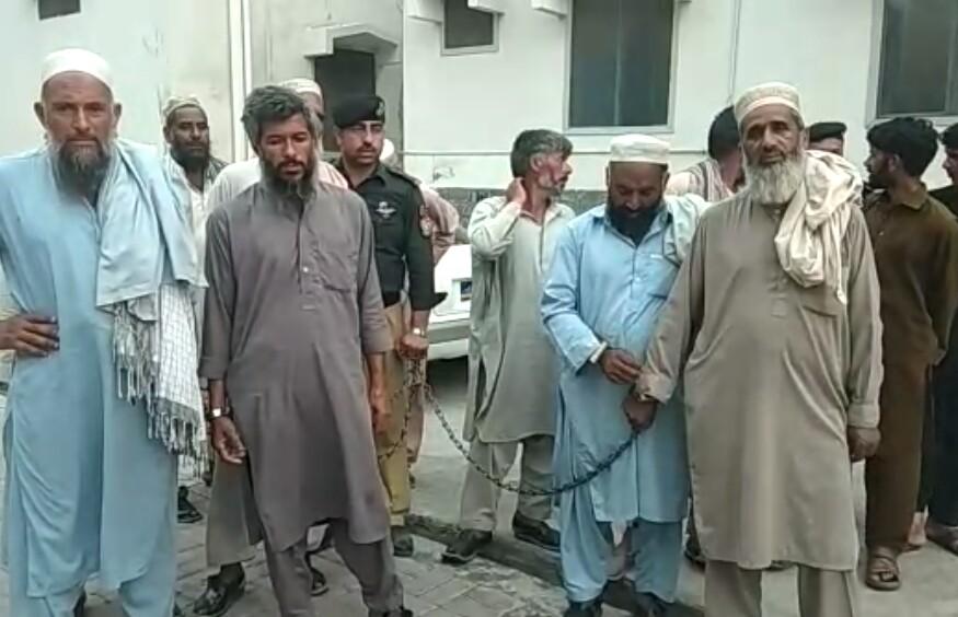 سوات میں والد کی جرم میں بیٹی کو سزا ، جرگہ اراکین گرفتار