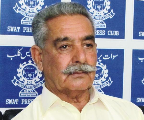 سبزی منڈی کے متاثرین کو تختہ بند میں دوسری منڈی کی اجازت دیا جائے، ملک اقبال روان خان