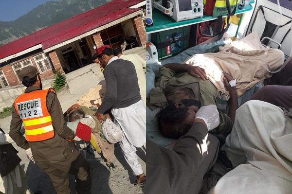 کالام مٹلتان میں مکان پر بھاری پہاڑی تودہ گرگیا، ماں چار بچوں سمیت جاں بحق