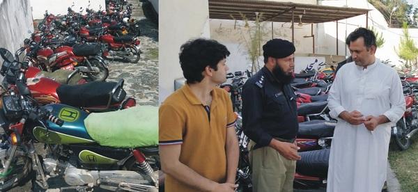 سوات میں کم عمر موٹر سائیکل سواروں کیخلاف سخت ایکشن، 3 سو کے قریب گرفتار