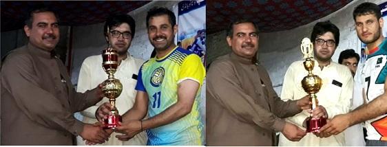 سوات توتانوبانڈئی میں منعقدہ آل پاکستان امن والی بال ٹورنامنٹ اختتام پذیر