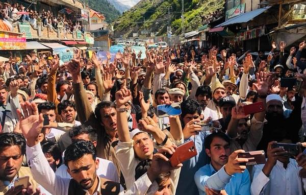 پنجاب میں اتروڑ کی رہائشی کا قتل ، کالام بازار میں احتجاجی ریلی اور مظاہرہ ، قاتلوں کو جلد سزا دینے کامطالبہ