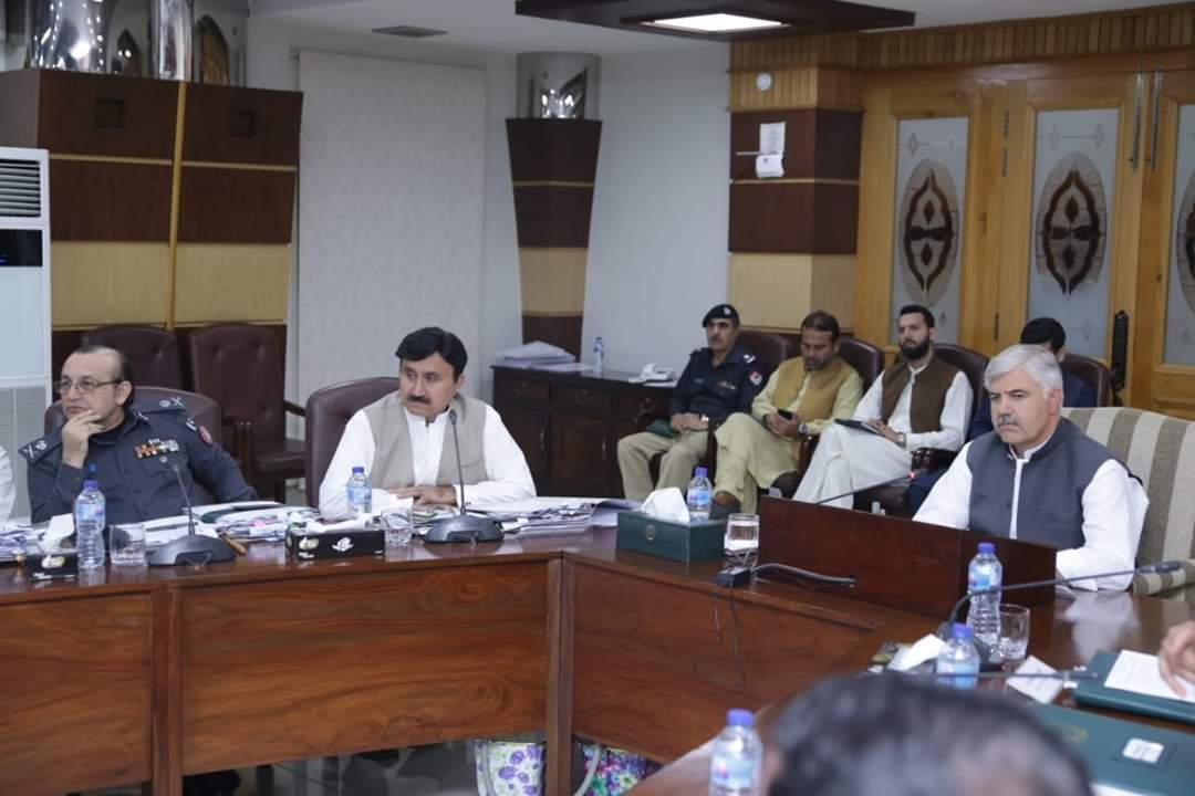 وزیراعلیٰ کی صدارت صوبائی کابینہ کا اجلاس،سپیشل پولیس فورس کو مستقل کرنے کے قانون کی منظوری