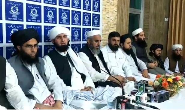 ہرصورت 17 اکتوبر کو وزیراعلیٰ کے حلقہ میں ریلی نکالیں گے، جمیعت علما اسلام سوات کا اعلان