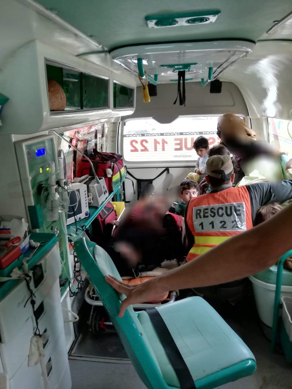 سوات ، 2 تیزرفتار فلائنگ کوچوں میں تصادم ،16 زخمی