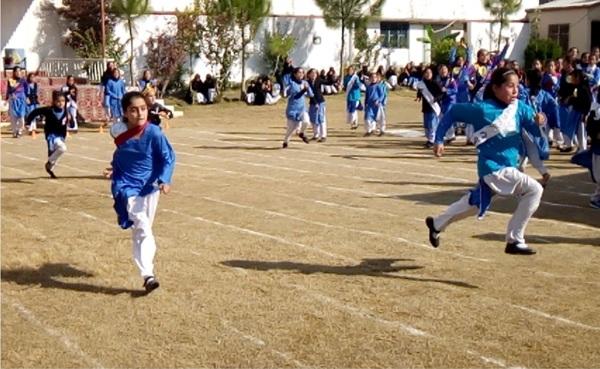 سوات، پرائمری سکول کے بچیوں میں سپورٹس مقابلے