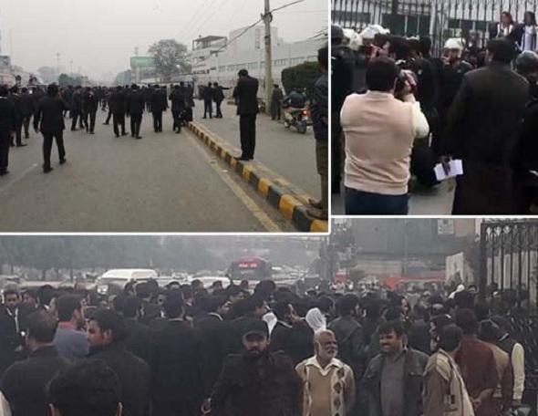وکلاء نے لاہور میں امراض قلب کے اسپتال پنجاب میں ہنگامہ ارائی، علاج نہ ملنےپر6 مریض جاں بحق