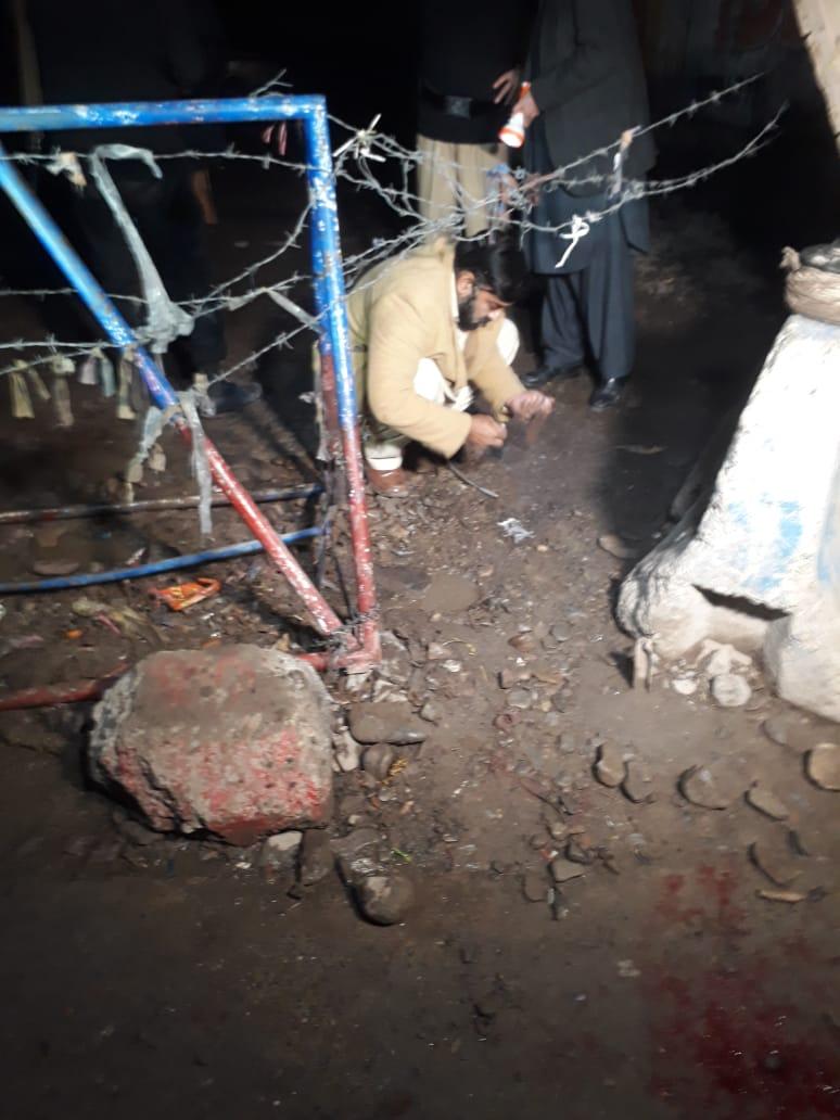 پشاور،کارخانو چک پوسٹ کے قریب دھماکہ ، نو افراد زخمی