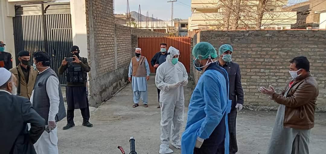 آفسوسناک خبر، اسلام اباد سے کورونا مریض کی مٹہ امد، پانچ گھر قرنطینہ بن گئے