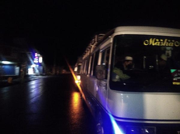 سوات تبلیغی مرکز مکمل بند، بیرون ممالک کی جماعتیں واپس