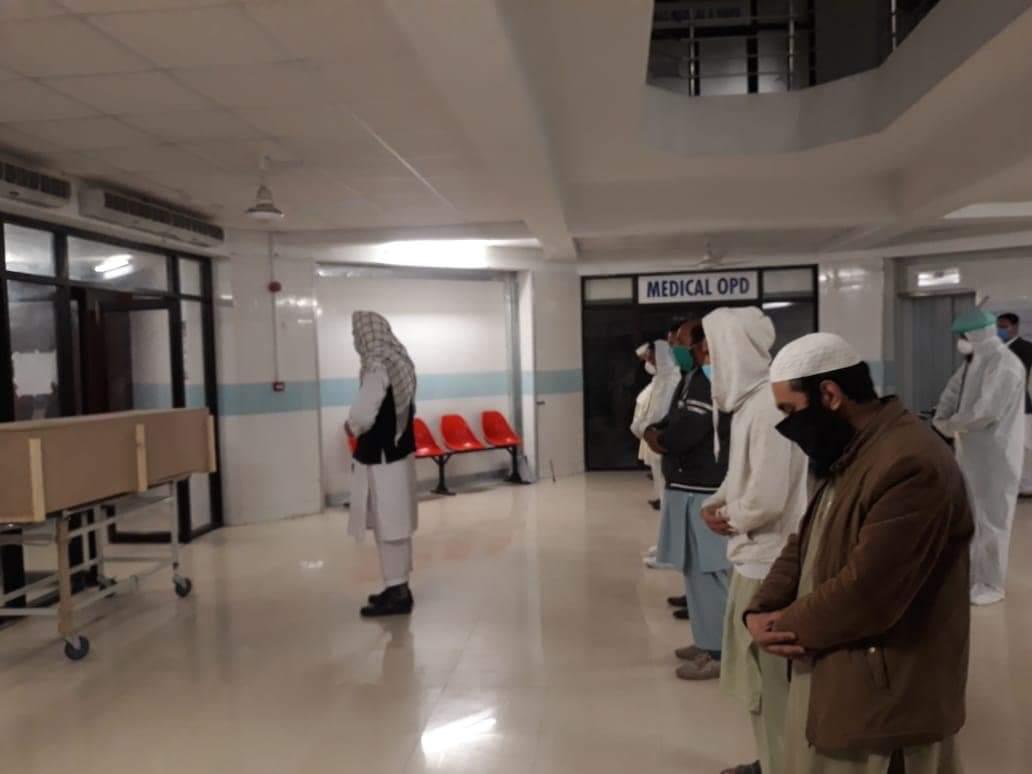 سوات، کورونا وائرس کا پہلا مریض جاں بحق ، نماز جنازہ ادا
