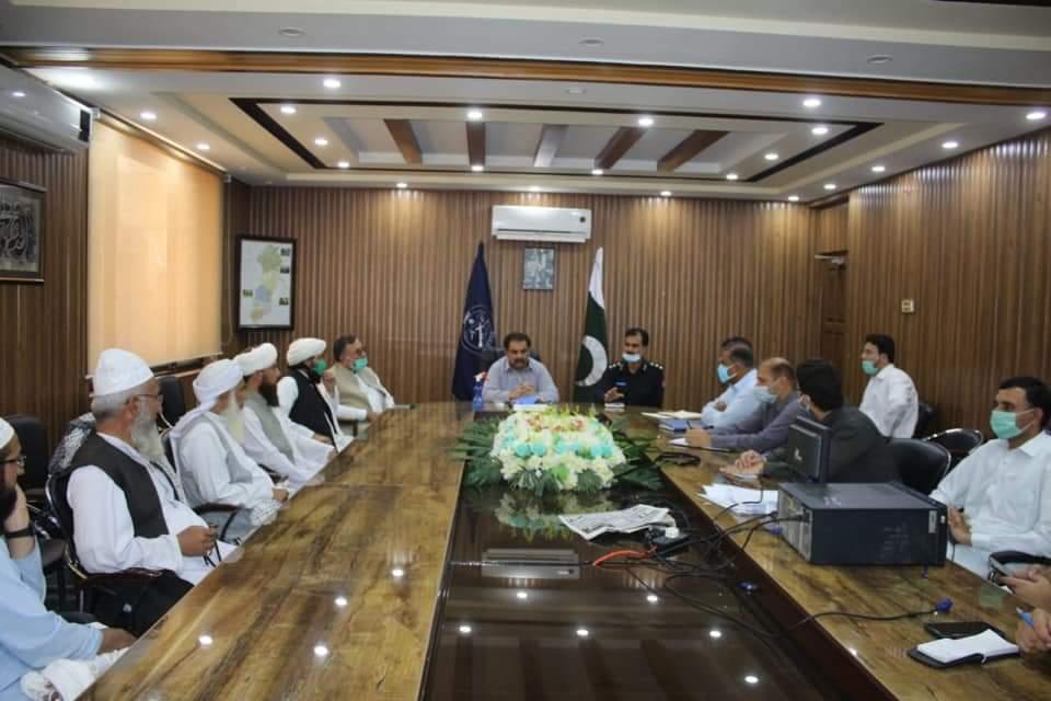 ضلعی انتظامیہ کاسوات کے علماء سے مشورے کے بعداہم فیصلے