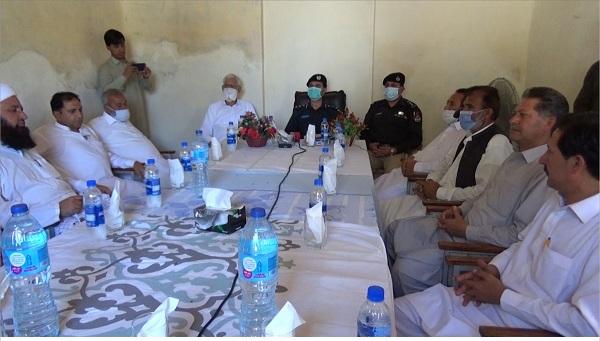 سوات، جامبیل میں پولیس چوکی کا افتتاح