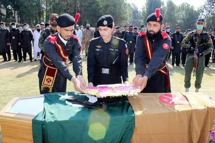 سوات، دہشت گردوں کی فائرنگ سے ایف سی جوان شہید