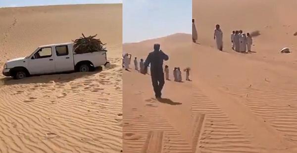 صحرا میں لاپتہ شخص کی لاش سجدے کی حالت میں مل گئی