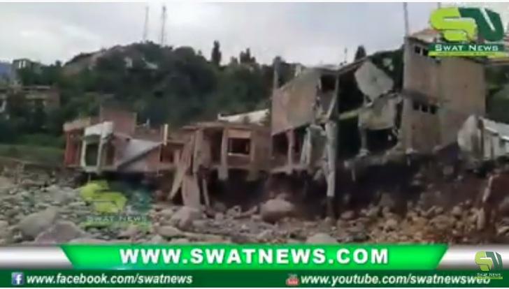 سوات،  سیلاب ملبہ سے مزید تین افراد کی لاشیں مل گئی