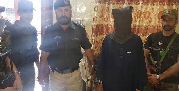 پچاس لاکھ روپے ہیڈ منی رکھنے والا دہشت گرد گرفتار