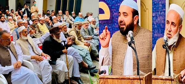 جماعت اسلامی سوات کے نئے امیرسے حلف لینے کیلئے تقریب کاانعقاد