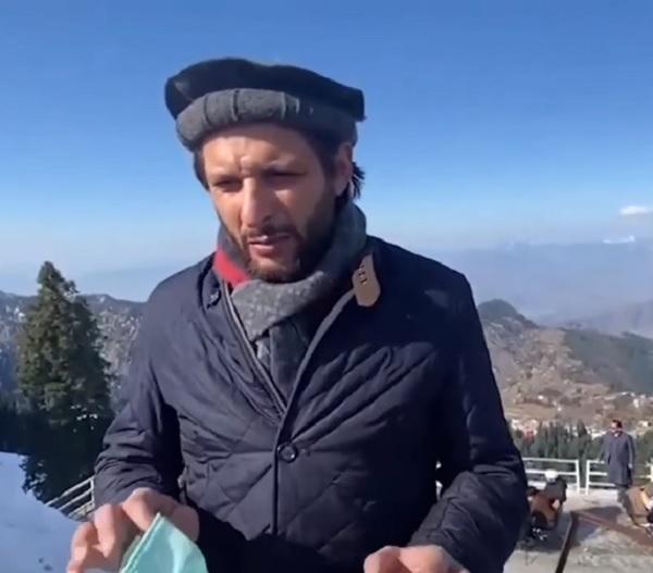 شاہد افریدی مالم جبہ پہنچ گئے ،کرکٹ کھیلتے ویڈیو وائرل