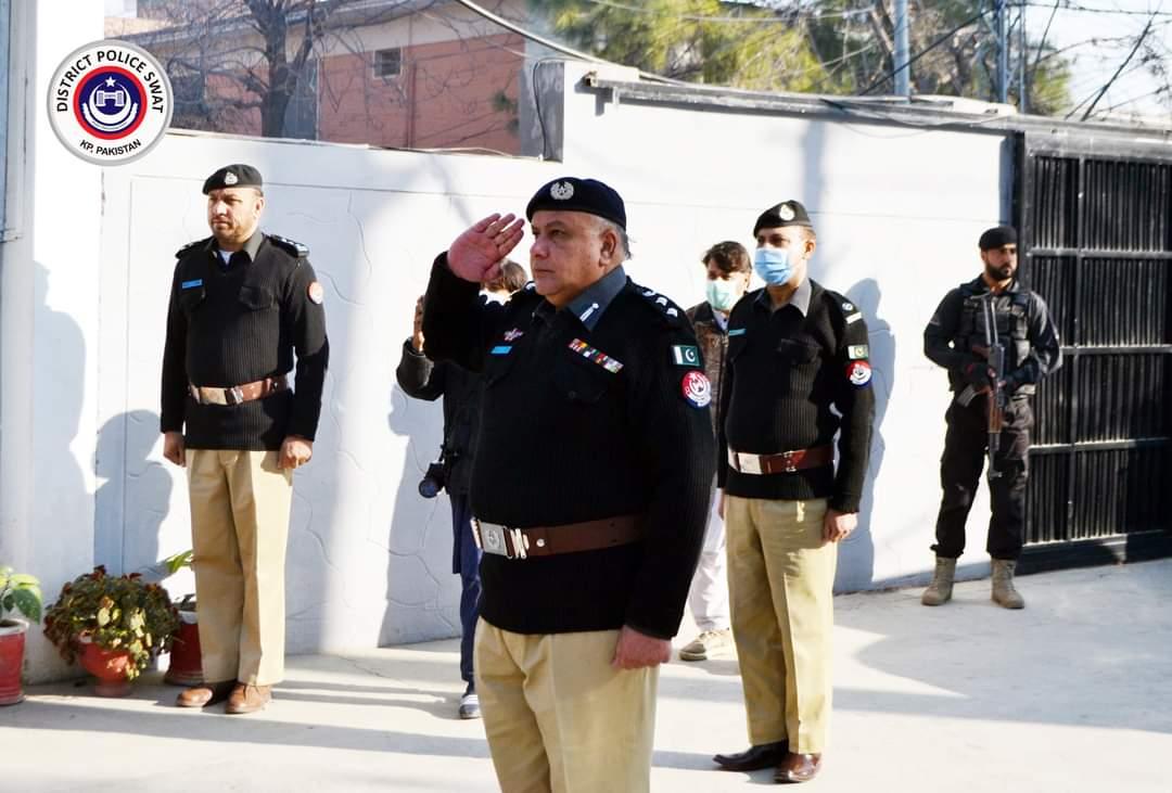 ضلعی پولیس سربراہ دلاور خان بنگش نے اپنے عہدے کا چارج سنبھال لیا