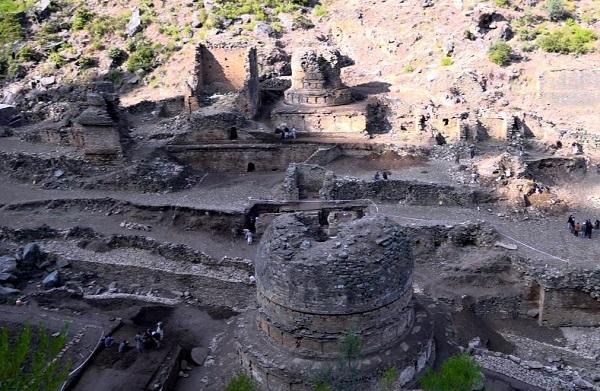 سوات میں 2 ہزار پرانا پورا شہر دریافت