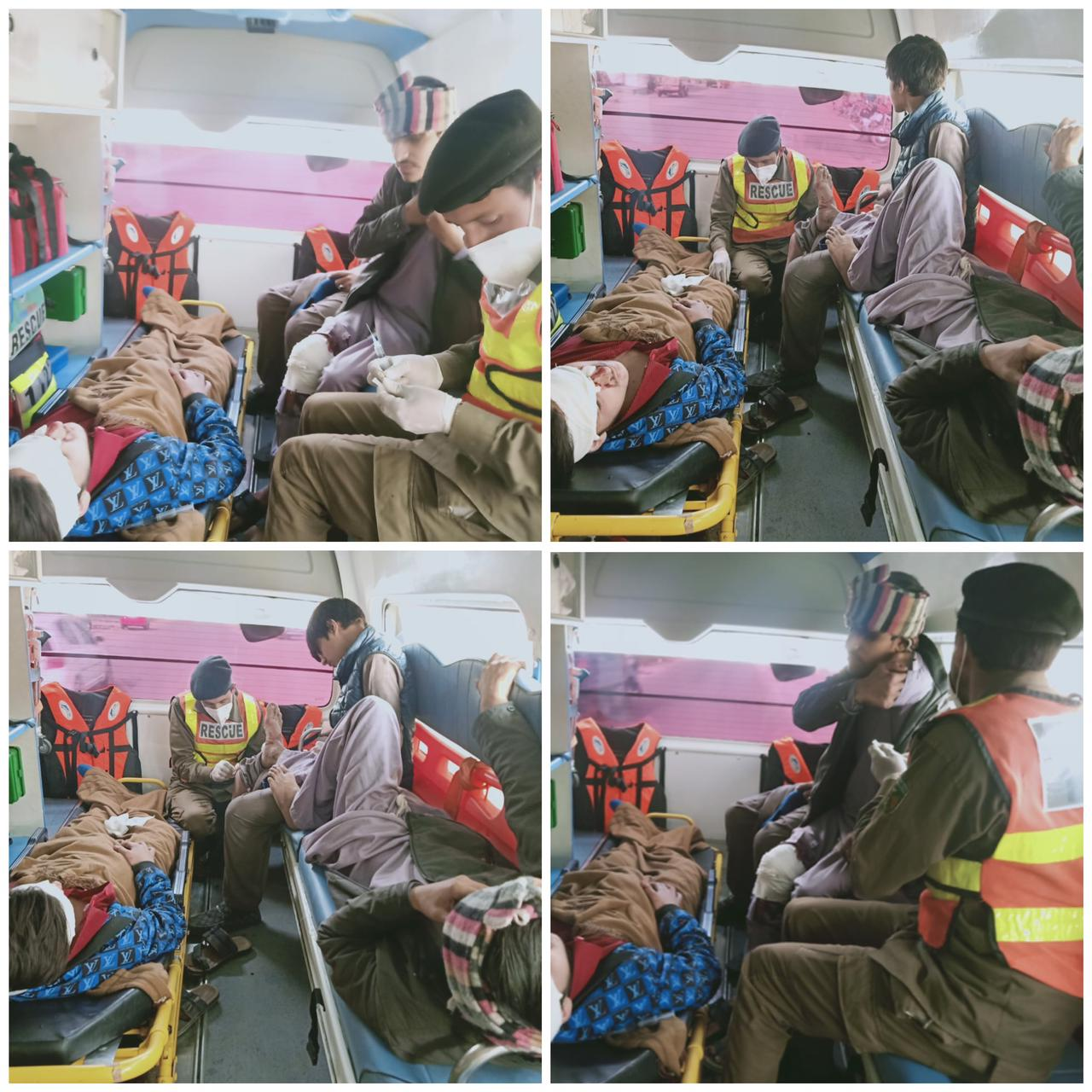 سوات، مختلف حادثات میں 8 افراد زخمی