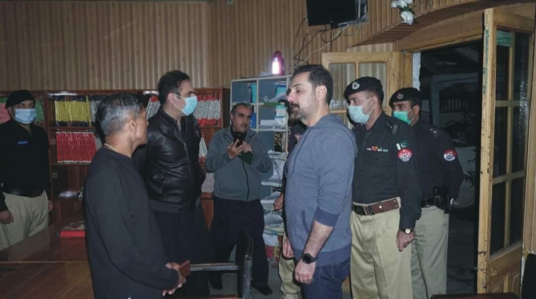 ائی جی پی  خیبرپختونخوا ڈاکٹر ثناءاللہ عباسی کا ہزارہ ریجن کا دورہ،پولیس سٹیشنوں کا معائنہ