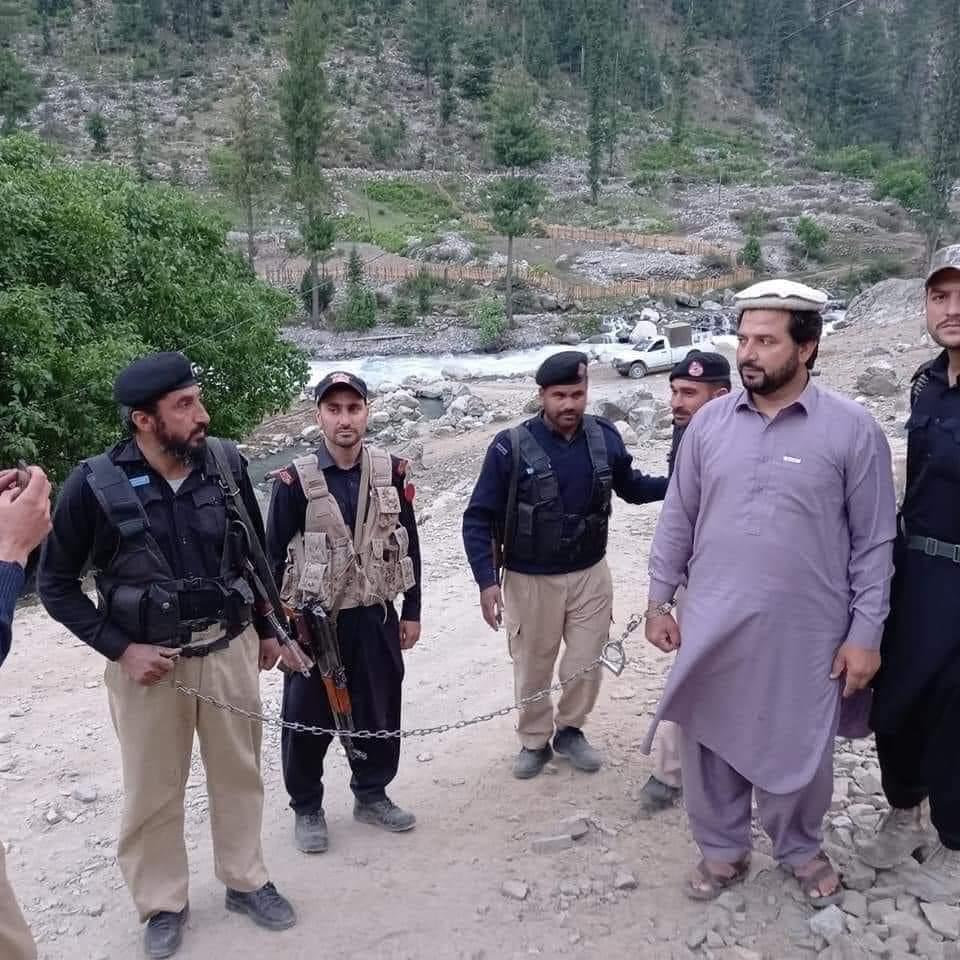 کالام سے شاہی باغ جانیوالے سیاحوں سے ٹیکس وصول کرنے والاشخص گرفتار