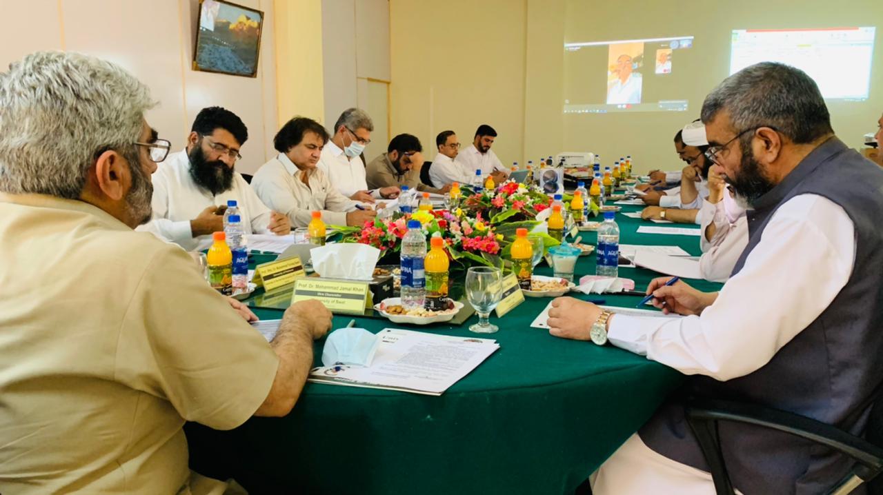 یونیورسٹی آف سوات کے سینڈیکیٹ نے مالی سال 22-2021 کا سرپلس بجٹ منظور کرلیا